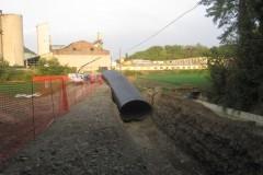 Condotta metallica Autostrada Milano-Seravalle