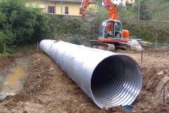 Condotta metallica, Lucca (LU)
