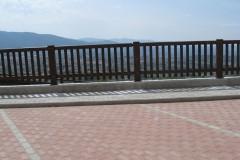 Parapetto legno e acciaio,  Castelnuovo M. (SP)