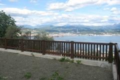 Parapetto legno e acciaio, La Spezia (SP)