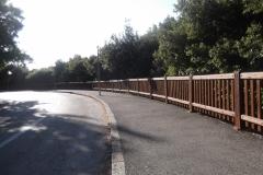 Parapetto legno e acciaio, Livorno (LI)