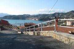 Protezione pedonale tubi passanti, Lerici (SP)