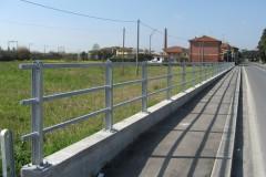 Protezione pedonale tubi passanti, Pieve a Nievole (PT)
